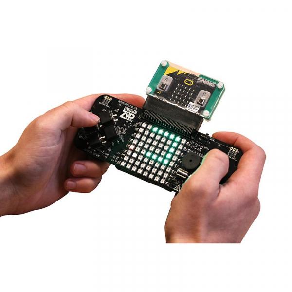 Platforma gaming portabila Kitronik :GAME ZIP 64 pentru BBC micro:bit 0
