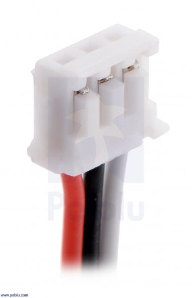 Pololu cablu JST ZH pentru senzorii de distanta Sharp GP2Y0A51 1