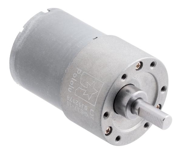 Pololu motor electric metalic, 19:1, 37Dx52L, 12V, pinion elicoidal [0]