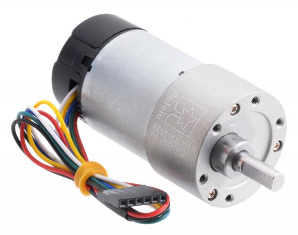 Pololu motor electric metalic, 30:1, 37Dx68L, 12V, pinion elicoidal 0