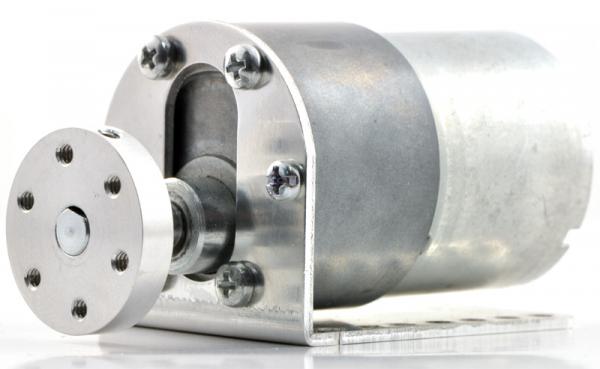 Pololu motor electric metalic 12V, 100:1, 37Dx57L, pinion elicoidal 4