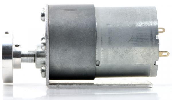 Pololu motor electric metalic 24V, 1001, 37Dx73L, pinion elicoidal 4