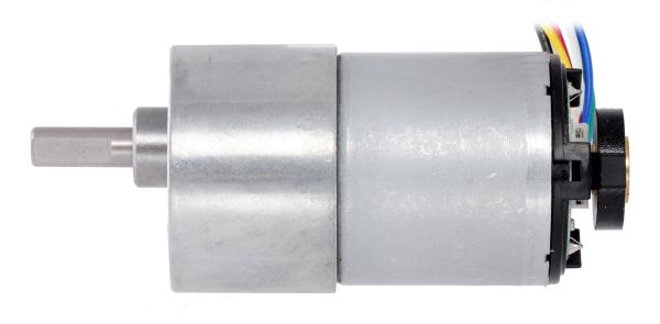 Pololu motor electric metalic 24V, 1001, 37Dx73L, pinion elicoidal 6