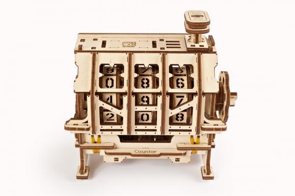 Puzzle mecanic 3D lemn Ugears Contor 0
