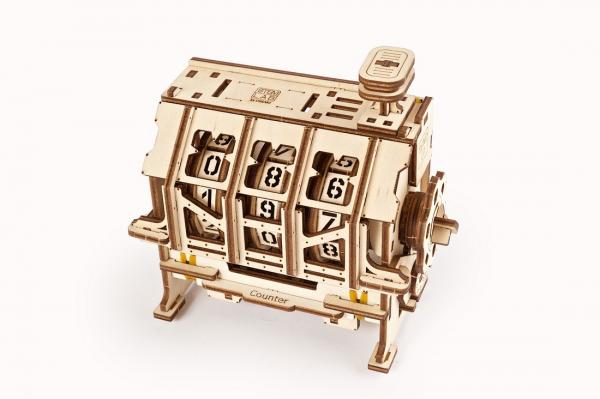Puzzle mecanic 3D lemn Ugears Contor 1
