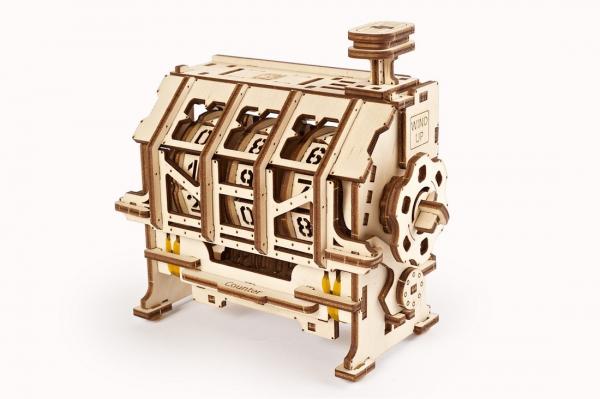 Puzzle mecanic 3D lemn Ugears Contor 2