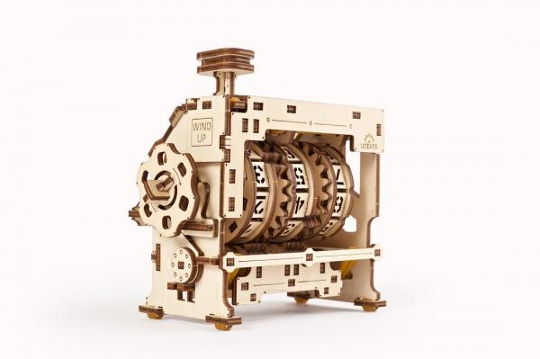 Puzzle mecanic 3D lemn Ugears Contor 3