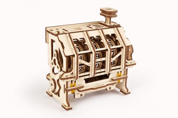 Puzzle mecanic 3D lemn Ugears Contor 5