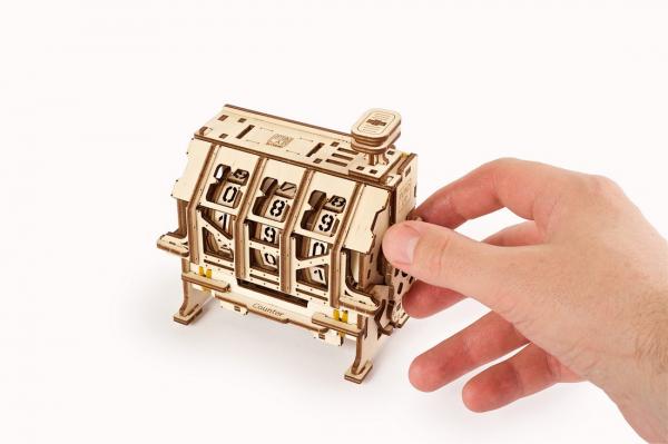 Puzzle mecanic 3D lemn Ugears Contor 6