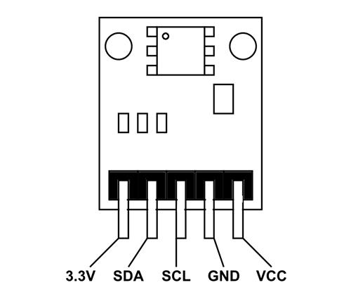 Senzor digital presiune atmosferica BMP180 [1]