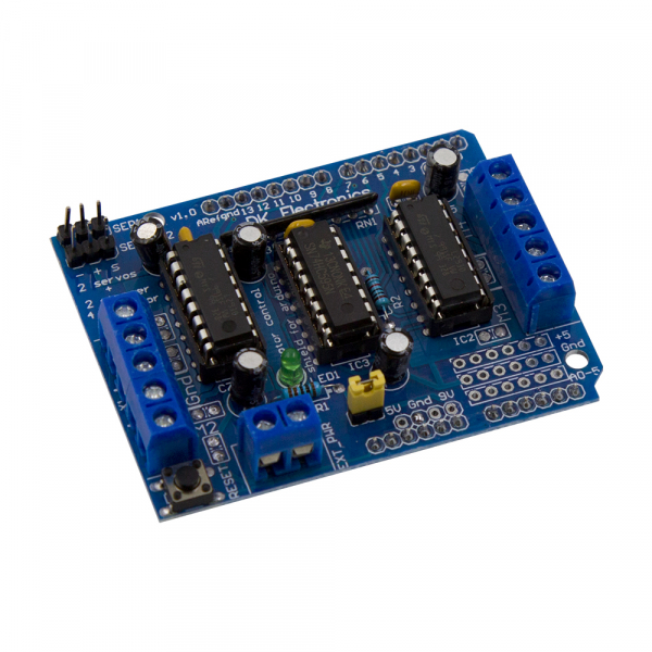 Shield driver motor stepper L293D [0]