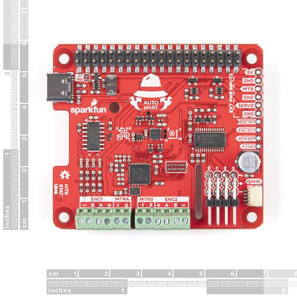SparkFun Auto pHAT pentru Raspberry Pi 1