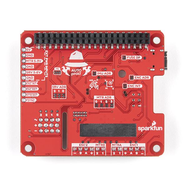 SparkFun Auto pHAT pentru Raspberry Pi 2
