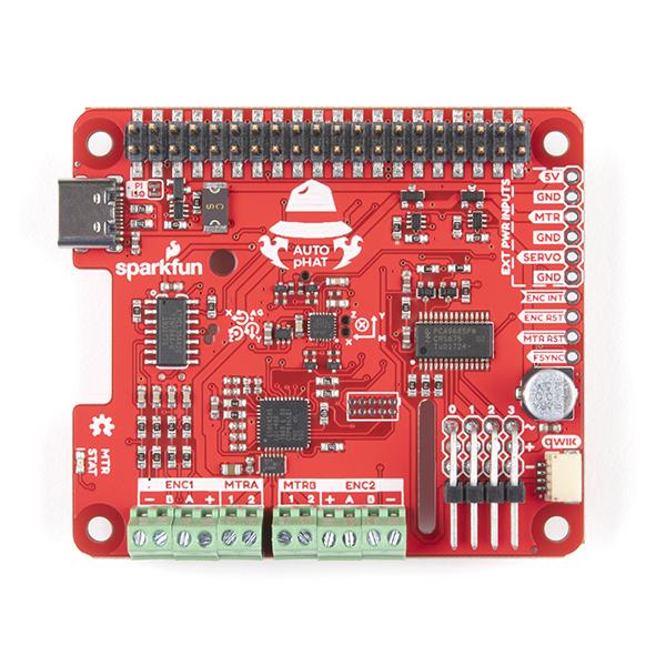 SparkFun Auto pHAT pentru Raspberry Pi 3