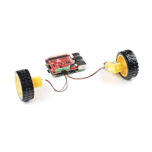 SparkFun Auto pHAT pentru Raspberry Pi 4