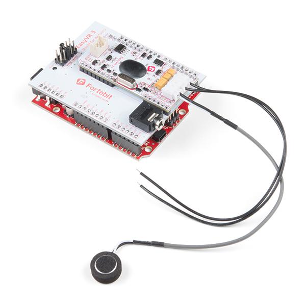 SparkFun EasyVR 3 Plus shield pentru Arduino 2