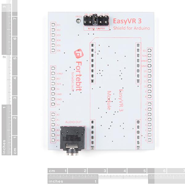 SparkFun EasyVR 3 Plus shield pentru Arduino 4