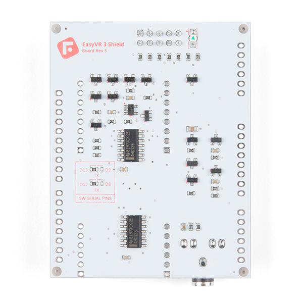 SparkFun EasyVR 3 Plus shield pentru Arduino 6