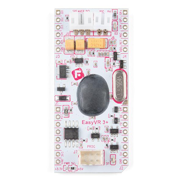 SparkFun EasyVR 3 Plus shield pentru Arduino 8