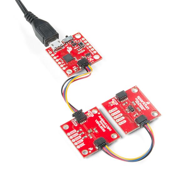 SparkFun Qwiic Micro SAMD21 placa dezvoltare 4