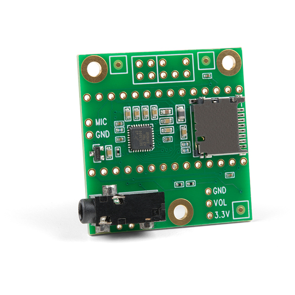 SparkFun Teensy 4 shield audio (Rev D) 0