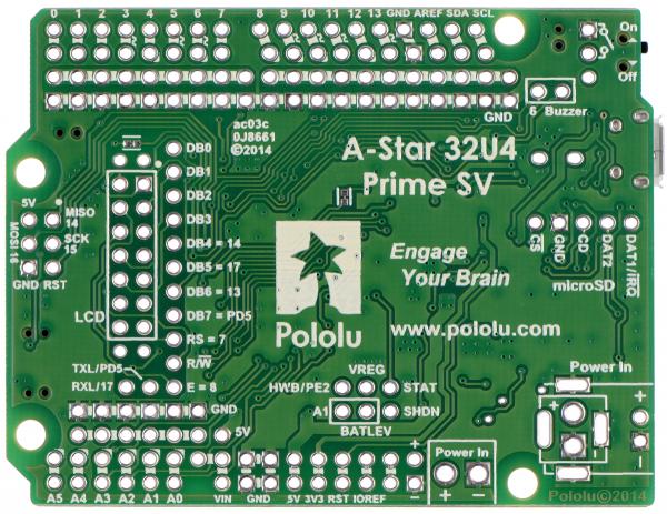 A-Star 32U4 Prime SV 2