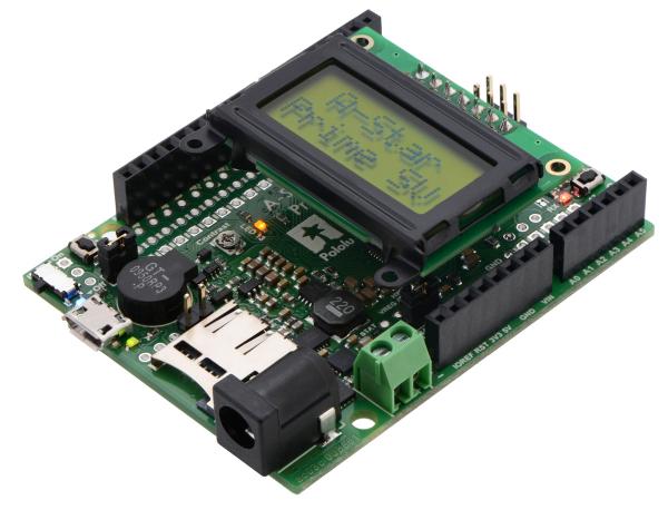 A-Star 32U4 Prime SV microSD cu LCD 0