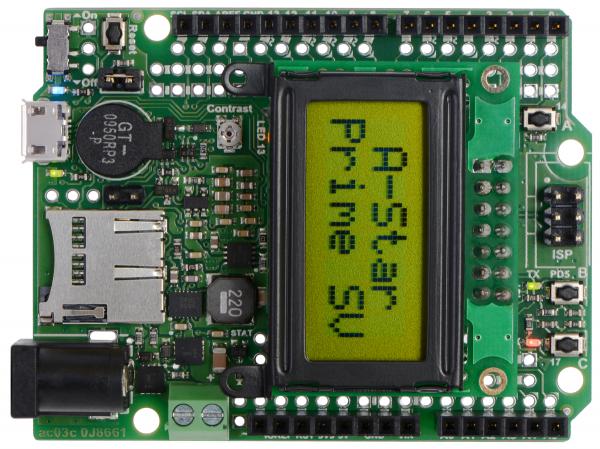 A-Star 32U4 Prime SV microSD cu LCD 1