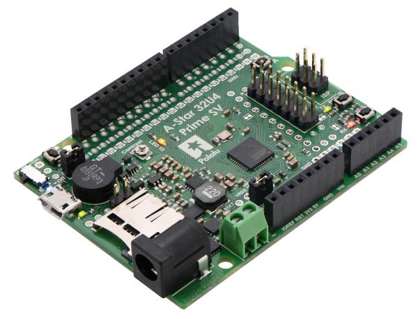 A-Star 32U4 Prime SV microSD cu LCD 2