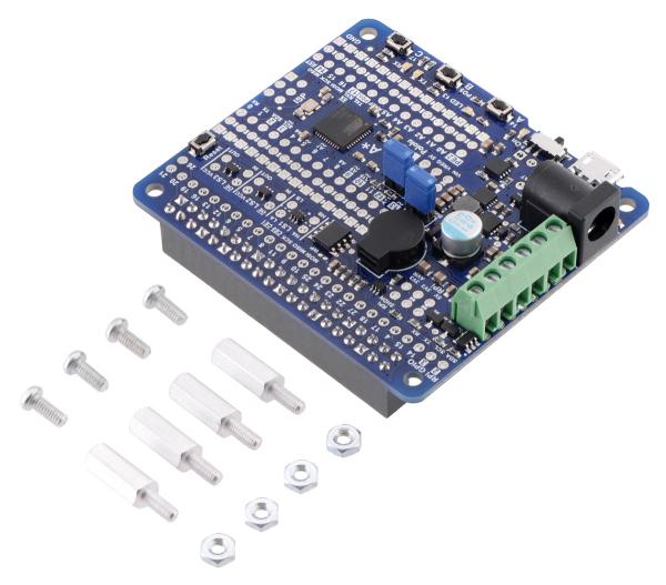 A-Star 32U4 Robot Controller LV cu Raspberry Pi Bridge 0