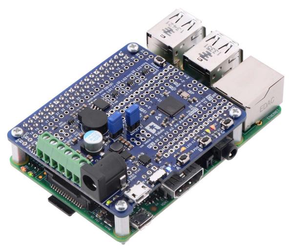 A-Star 32U4 Robot Controller LV cu Raspberry Pi Bridge 2