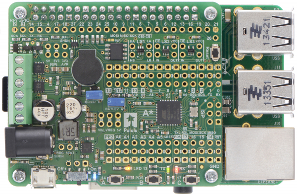 A-Star 32U4 Robot Controller SV  pentru Raspberry Pi (Fara conectori) [3]
