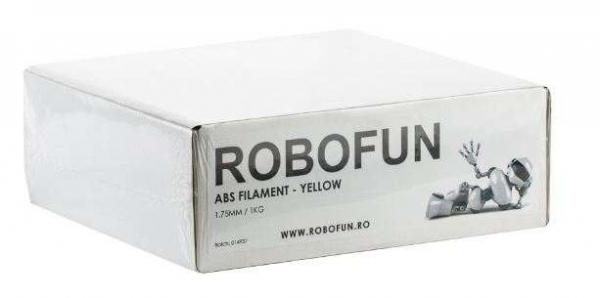Retras Filament Premium Robofun ABS 1KG  1.75 mm - Galben 8