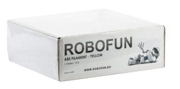 Retras Filament Premium Robofun ABS 1KG  1.75 mm - Galben 5