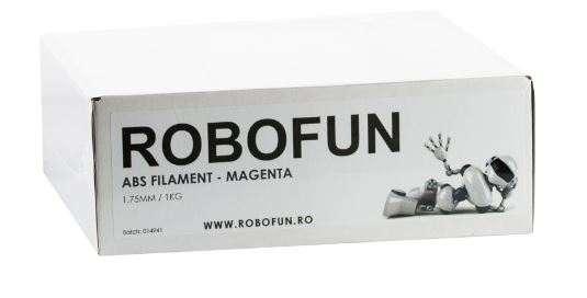 Filament Premium Robofun ABS 1KG  1.75 mm - Magenta 2