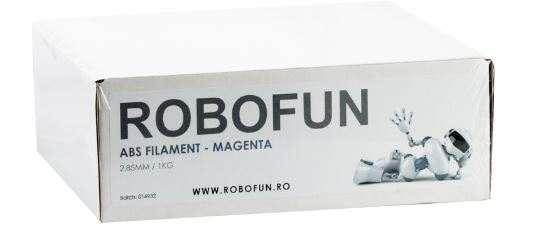 Filament Premium Robofun ABS 1KG  3 mm - Magenta 1