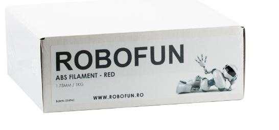 Filament Premium Robofun ABS 1KG  1.75 mm - Rosu 2