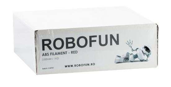 Filament Premium Robofun ABS 1KG  3 mm - Rosu [1]