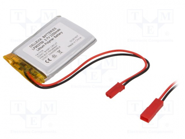 Acumulator Li-Po Cellevia Batteries L903759 3.7V 2200mAh 0
