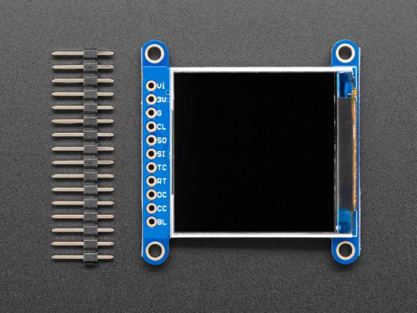 "Display TFT LCD Adafruit ST7789 de 1.54"", 240x240 pixeli,  slot microSD [2]"