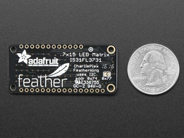 Matrice de LED-uri 15x7 pentru Platformele Feather - Alb 3