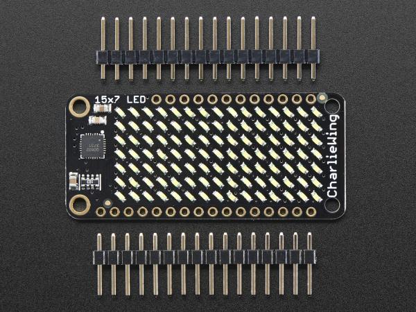 Matrice de LED-uri 15x7 pentru Platformele Feather - Alb 2