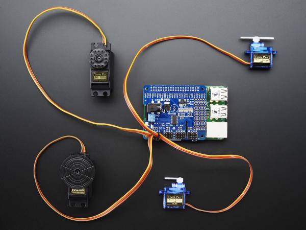 16 Canale PWM / Servo HAT pentru Raspberry Pi - Mini Kit 2