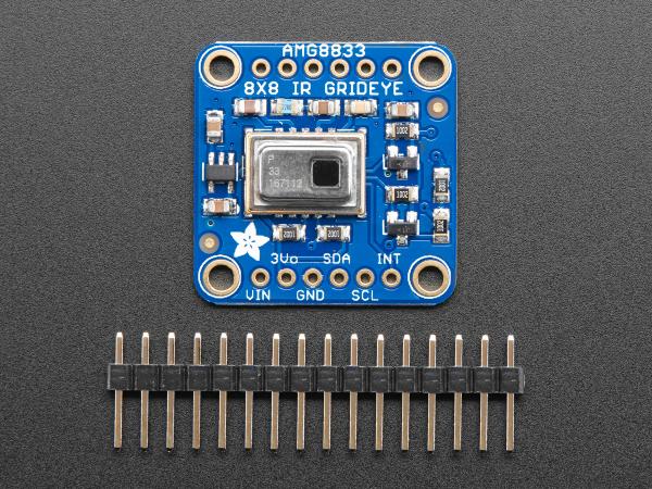Camera termica Adafruit AMG8833 IR 1