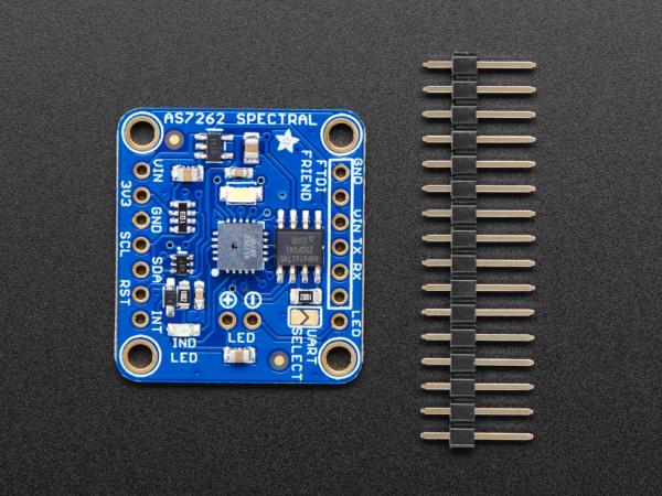 Breakout senzor de lumina/culoare de 6 canale Adafruit AS7262 2