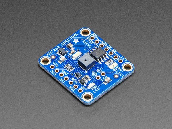 Breakout senzor de lumina/culoare de 6 canale Adafruit AS7262 0