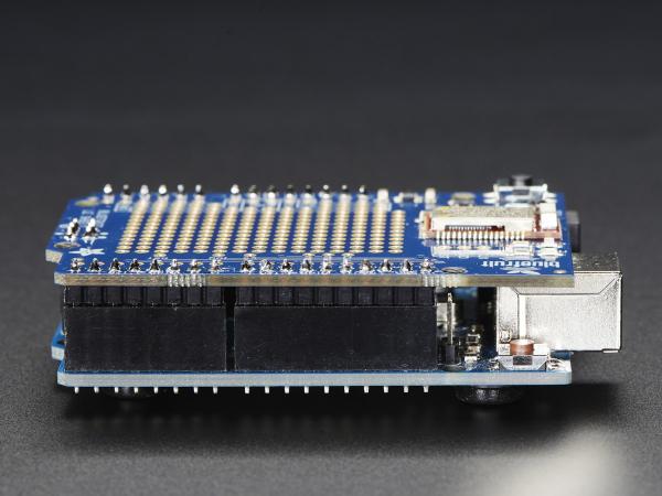 Bluefruit LE Bluetooth Shield pentru Arduino 6