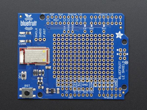 Bluefruit LE Bluetooth Shield pentru Arduino 8