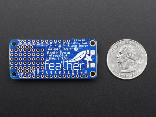 Feather 32u4 Basic Proto 2