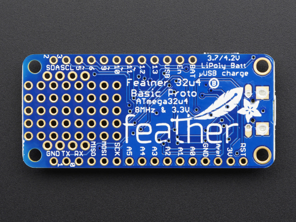 Feather 32u4 Basic Proto 5